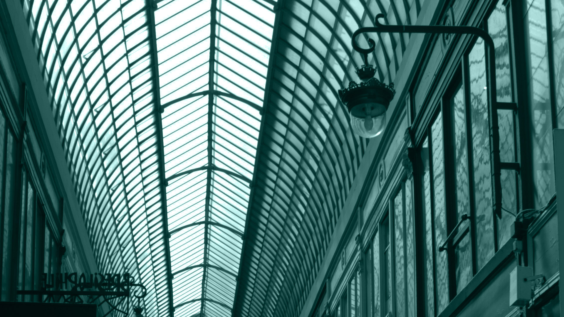 Passage Jouffroy roof