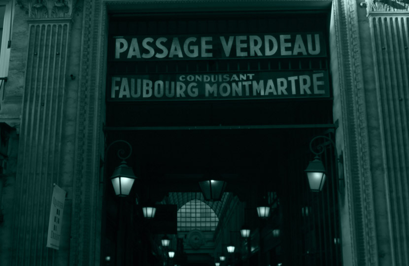 Passage Verdeau Southern Entrance